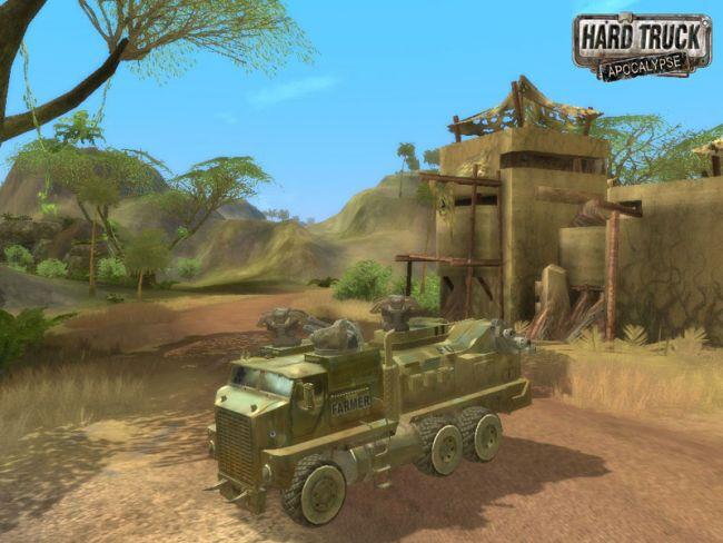 Скриншот из игры Hard Truck: Apocalypse под номером 7. Смотреть полную верс