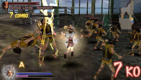 Samurai Warriors: State of War (PSP)  Archiv - Screenshots - Bild 8