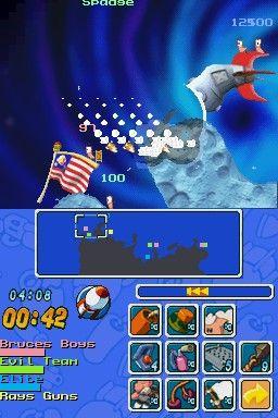 Worms: Open Warfare (DS)  Archiv - Screenshots - Bild 4