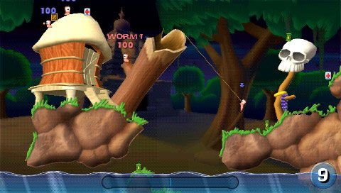 Worms: Open Warfare (PSP)  Archiv - Screenshots - Bild 3