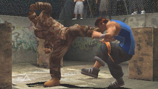 Def Jam Fight For NY: The Takeover (PSP)  Archiv - Screenshots - Bild 2