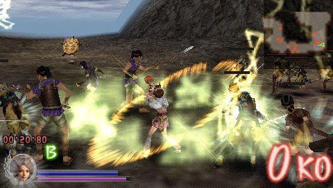 Samurai Warriors: State of War (PSP)  Archiv - Screenshots - Bild 2