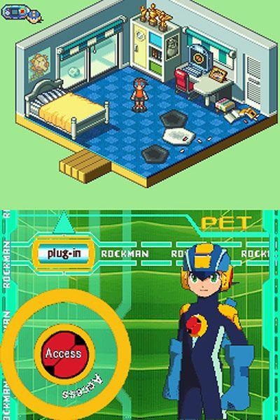 MegaMan Battle Network 5: Double Team DS (DS)  Archiv - Screenshots - Bild 7