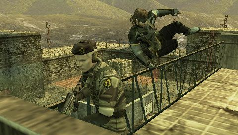 Metal Gear Solid: Portable Ops (PSP)  Archiv - Screenshots - Bild 52