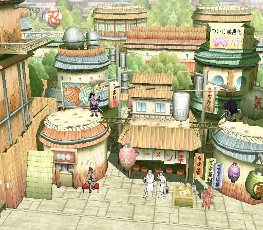 Naruto: Ultimate Ninja  Archiv - Screenshots - Bild 8