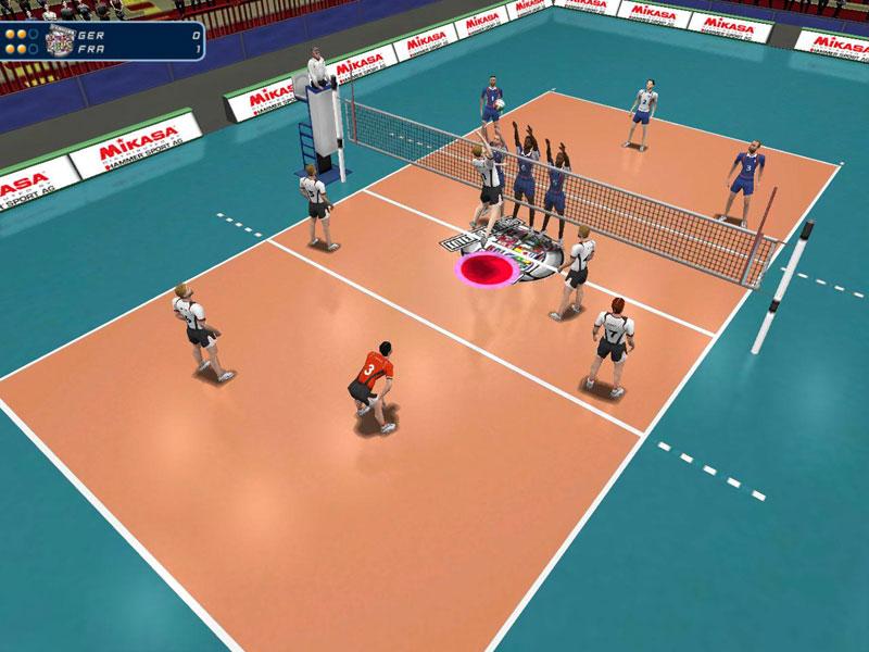 Volleyball aufstellungskarten download