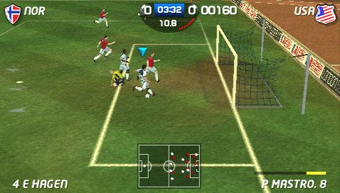 World Tour Soccer 2 (PSP)  Archiv - Screenshots - Bild 2
