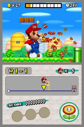 New Super Mario Bros. (DS)  Archiv - Screenshots - Bild 2