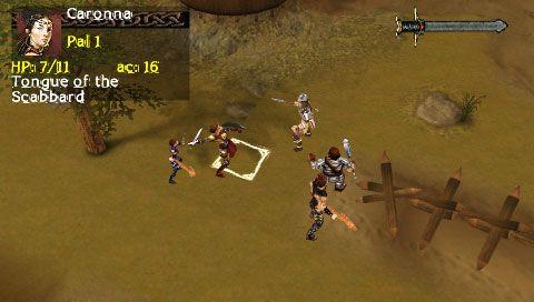 Dungeons & Dragons: Tactics (PSP)  Archiv - Screenshots - Bild 15