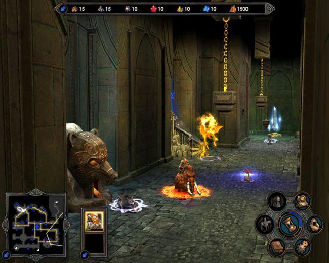 Скриншот Герои Меча и Магии 5: Владыки Севера. Стратегии.