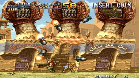 Metal Slug Anthology (PSP)  Archiv - Screenshots - Bild 2