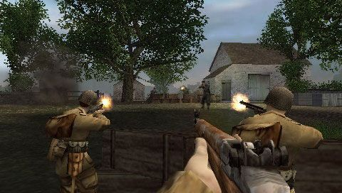 Brothers In Arms D-Day (PSP)  Archiv - Screenshots - Bild 16