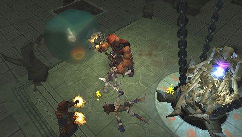 Dungeon Siege: Throne of Agony (PSP)  Archiv - Screenshots - Bild 17