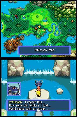 Pokémon Mystery Dungeon: Blue Rescue Team (DS)  Archiv - Screenshots - Bild 5