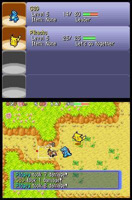 Pokémon Mystery Dungeon: Blue Rescue Team (DS)  Archiv - Screenshots - Bild 13