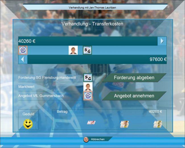 Handball Manager 2007  Archiv - Screenshots - Bild 8