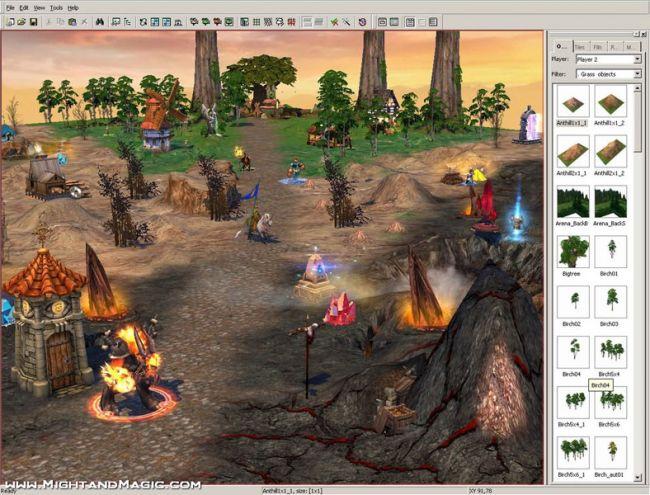 Heroes of Might & Magic 5 - Karten-Editor  Archiv - Screenshots - Bild 7
