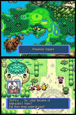 Pokémon Mystery Dungeon: Blue Rescue Team (DS)  Archiv - Screenshots - Bild 4