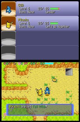 Pokémon Mystery Dungeon: Blue Rescue Team (DS)  Archiv - Screenshots - Bild 14