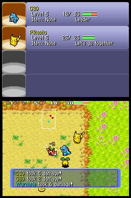 Pokémon Mystery Dungeon: Blue Rescue Team (DS)  Archiv - Screenshots - Bild 12