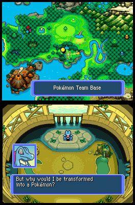 Pokémon Mystery Dungeon: Blue Rescue Team (DS)  Archiv - Screenshots - Bild 16