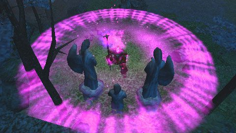Dungeon Siege: Throne of Agony (PSP)  Archiv - Screenshots - Bild 7