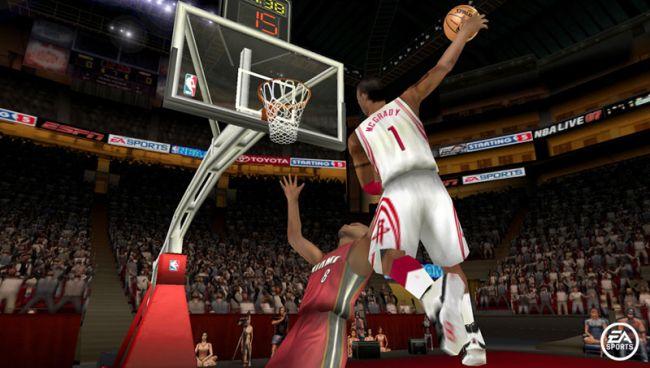 NBA Live 07 (PSP)  Archiv - Screenshots - Bild 3