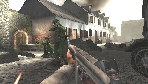 Call of Duty: Roads to Victory (PSP)  Archiv - Screenshots - Bild 14