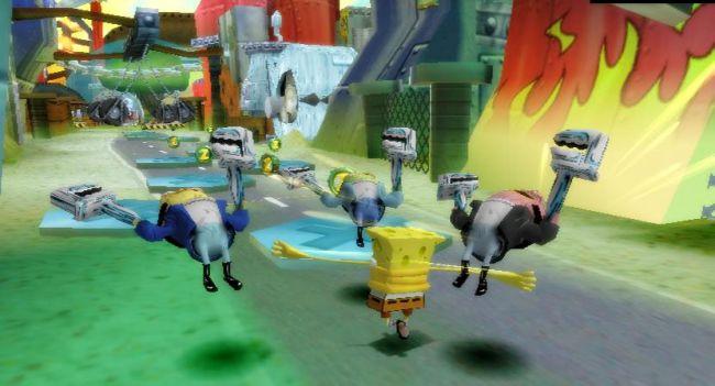 SpongeBob Squarepants: Creature from the Krusty Krab  Archiv - Screenshots - Bild 2
