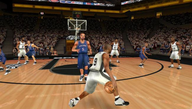 NBA Live 07 (PSP)  Archiv - Screenshots - Bild 2