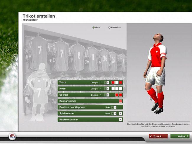 Fussball Manager 07  Archiv - Screenshots - Bild 2