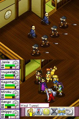 Inuyasha: Secret of the Divine Jewel (DS)  Archiv - Screenshots - Bild 8