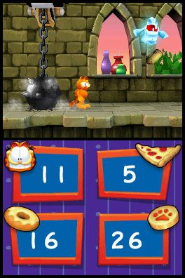 Garfield's Nightmare (DS)  Archiv - Screenshots - Bild 3