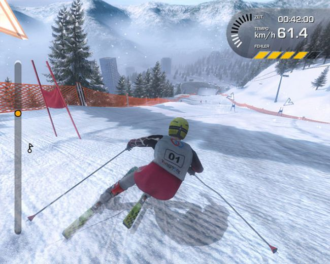Ski Alpin Racing 2007 - Bode Miller vs. Hermann Maier  Archiv - Screenshots - Bild 14