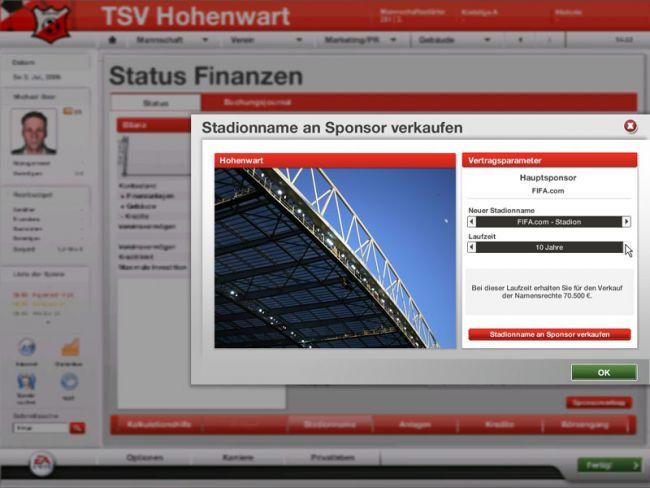 Fussball Manager 07  Archiv - Screenshots - Bild 4