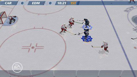 NHL 07 (PSP)  Archiv - Screenshots - Bild 11