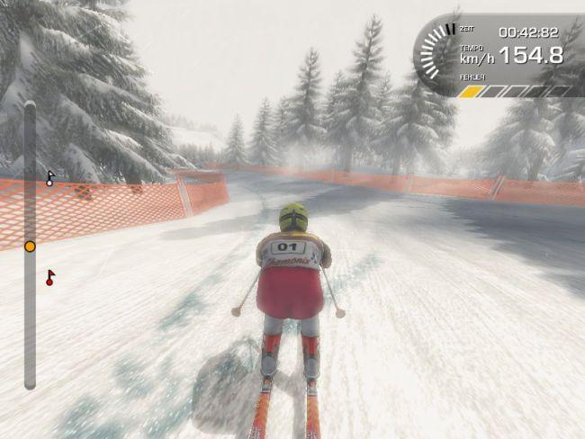 Ski Alpin Racing 2007 - Bode Miller vs. Hermann Maier  Archiv - Screenshots - Bild 4