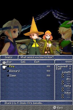 Final Fantasy III (DS)  Archiv - Screenshots - Bild 15