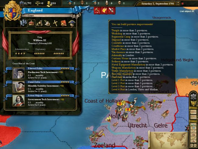 Europa Universalis 3  Archiv - Screenshots - Bild 2