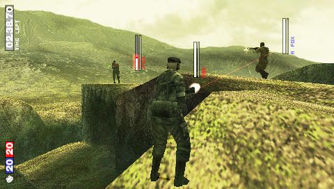 Metal Gear Solid: Portable Ops (PSP)  Archiv - Screenshots - Bild 26