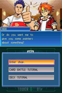SNK Vs Capcom Card Fighters DS (DS)  Archiv - Screenshots - Bild 7