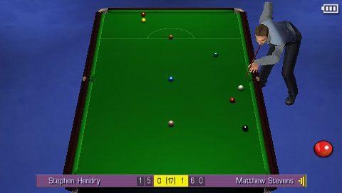 World Snooker Challenge 2007 (PSP)  Archiv - Screenshots - Bild 8