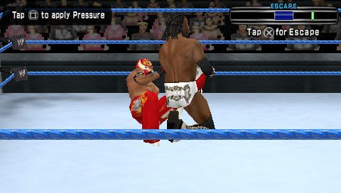 WWE SmackDown! vs. RAW 2007 (PSP)  Archiv - Screenshots - Bild 6