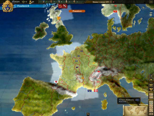 Europa Universalis 3  Archiv - Screenshots - Bild 13