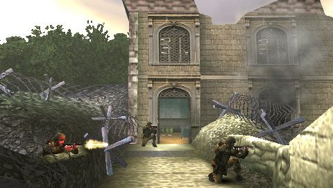 Call of Duty: Roads to Victory (PSP)  Archiv - Screenshots - Bild 7