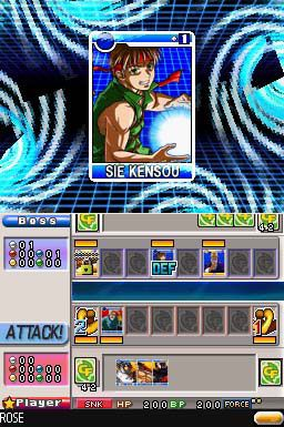 SNK Vs Capcom Card Fighters DS (DS)  Archiv - Screenshots - Bild 11
