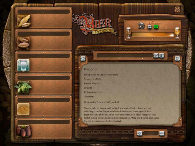Bier Tycoon  Archiv - Screenshots - Bild 5