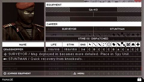 Metal Gear Solid: Portable Ops (PSP)  Archiv - Screenshots - Bild 6