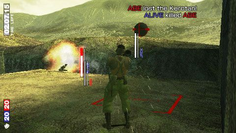 Metal Gear Solid: Portable Ops (PSP)  Archiv - Screenshots - Bild 25