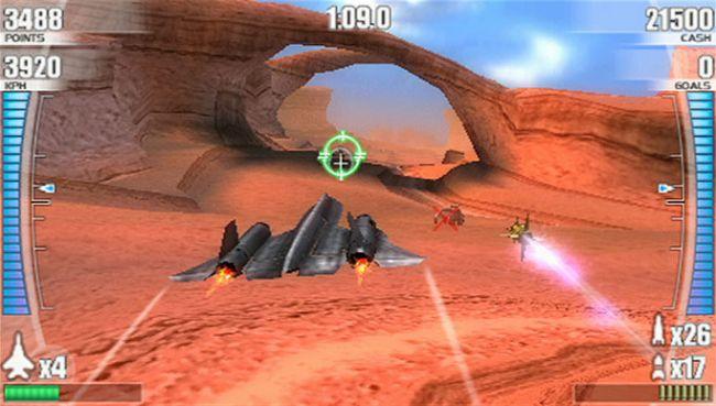 After Burner: Black Falcon (PSP)  Archiv - Screenshots - Bild 13
